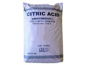 Citric Acid – Anhydrous