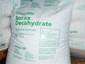 borax becahydrate chemical products