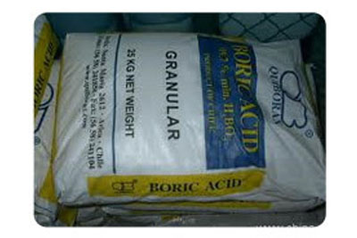Boric acid products