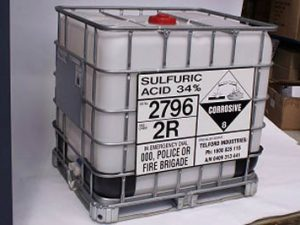 Sulfuric Acid Chemicals Products