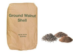 ground walnut shell Chemicals