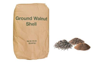 ground walnut shell Chemicals